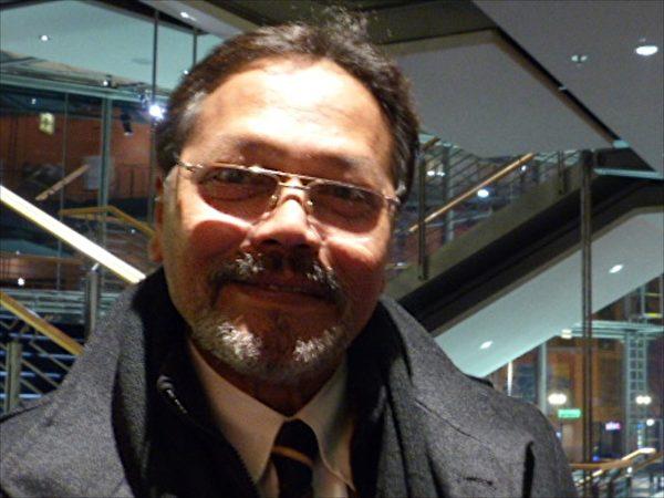 印度使館新聞特派員Bhask Kotian:傳遞了神的美好。(黃芩/大紀元