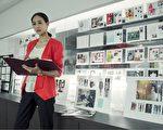 張鈞甯揣摩雜誌社女總編角色,挑戰扮演幹練女強人。(安可提供)
