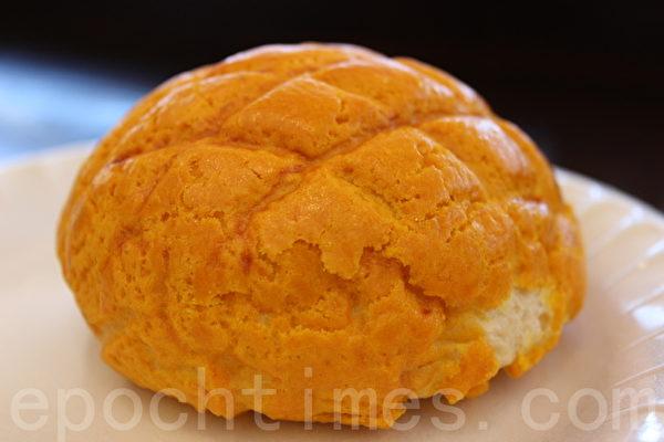菠蘿包。(攝影:簡然/大紀元)
