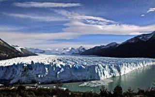 组图:阿根廷莫雷诺冰川 非凡壮观