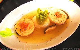 鮭滋蕪菁鮮湯(家和/大紀元)