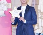3月21日,金秀贤在台湾宣传《来自星星的你》。(黄宗茂/大纪元)