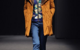 2014年3月24日,首爾秋冬時裝週,Monte Milano秀。(Chung Sung-Jun/Getty Images)
