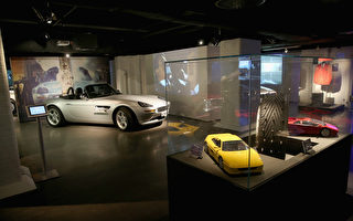 组图:007电影道具展 重温往日激情岁月