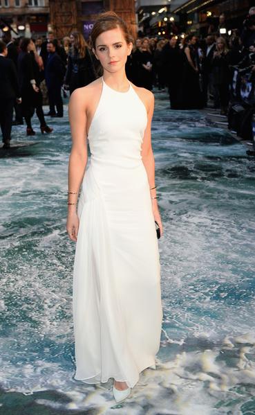 2014年3月31日,爱玛•沃森出席《诺亚方舟》伦敦首映礼。(Dave J Hogan/Getty Images for Paramount Pictures International)