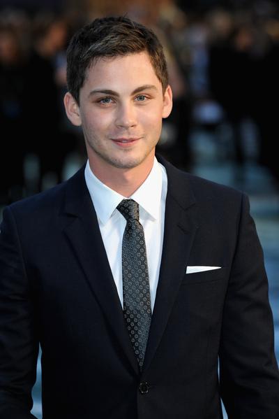 2014年3月31日,饰演含的罗根•勒曼出席《诺亚方舟》伦敦首映礼。(Dave J Hogan/Getty Images for Paramount Pictures International)