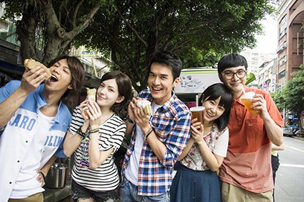 鄒承恩(左起)、許瑋甯、楊一展、林心如、謝佳見。(聯意製作提供)