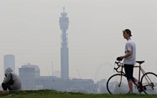 撒哈拉沙尘笼罩 英国空污破表