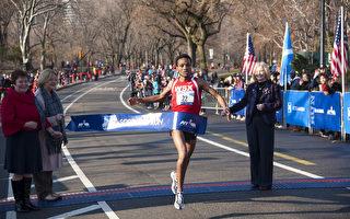 组图:纽约中央公园第十一届苏格兰长跑