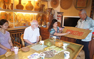 鄉土藝術 傳統竹編工藝之美