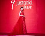 香港藝人周麗淇現身台北出席活動。(公關提供)