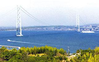 世上跨度最大的懸索吊橋 明石海峽大橋