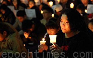 韓國沉船跟蹤報導 76萬安山市民在哭泣