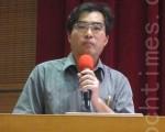 交通大學資工系特聘教授林盈達。(鍾元 /大紀元)