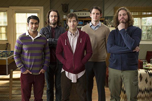 《硅谷群瞎传》剧照。(HBO提供)
