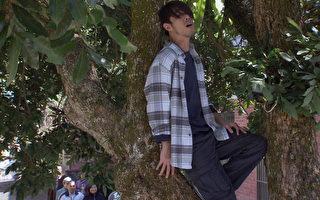 黃騰浩再獻歌喉  樹上開唱力傳山谷