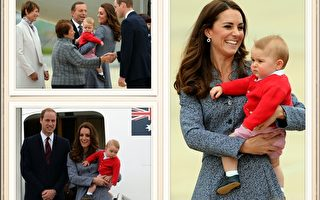组图:乔治王子表情多 时尚童装掀热潮