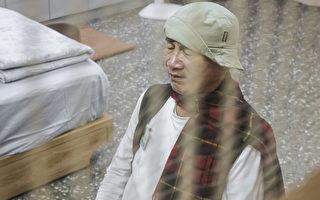 林义雄30日宣布绝食行动结束。图为日前绝食画面。(台北市摄影记者协会提供)