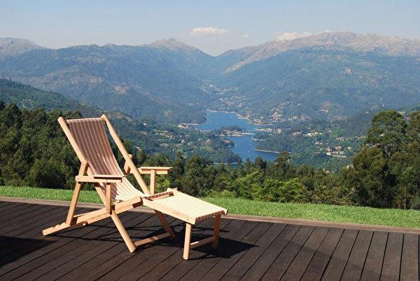 別墅外景,可欣賞到葡萄牙美麗的自然景觀。 (PRO PORTUGAL公司提供)