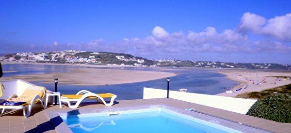 銀色海岸海邊房產的美麗外景(PRO PORTUGAL公司提供)