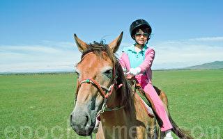 研究:骑马可降压 预防青少年精神疾病