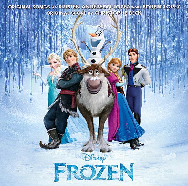 《冰雪奇缘》原声大碟有望成为今年最卖座专辑。(环球音乐提供)