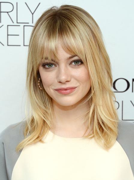 將臉部稍稍改變,達到可愛公式的20%,就是成人臉顯得可愛需要的最大限度。就像艾瑪‧斯通(Emma Stone)(圖/Getty Images)