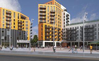 伦敦复兴工程楼盘热卖 近金丝雀码头的Aurelia