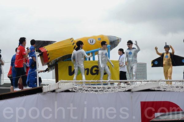 今次是該比賽2010年後,第2次在香港舉行,除了鬥飛得遠,亦是一次創意大對決。(宋祥龍/大紀元)