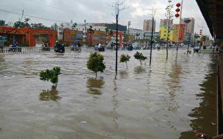 廣東暴雨成災 海豐水淹全城多人死亡