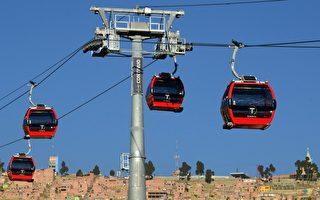玻利维亚启用全球最高海拔缆车