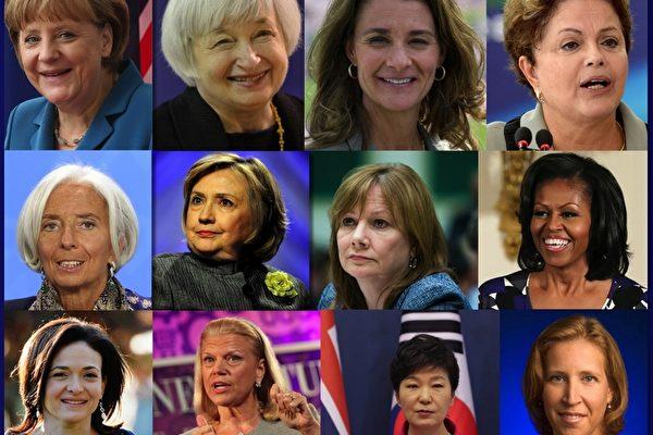 福布斯:全球最有权势女性前25位排名(一)