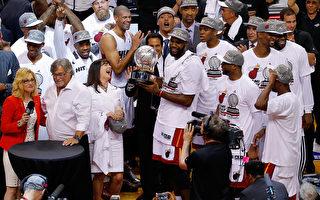 NBA總決賽 熱火馬刺再次上演巔峰對決