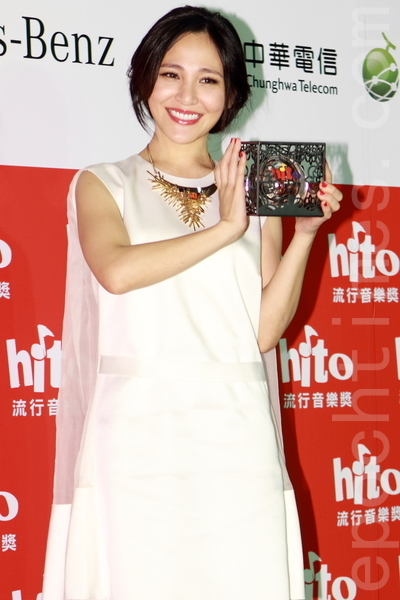 Hito潛力女聲:梁文音。(許基東/大紀元)