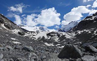 缓慢死亡的瑞士冰川
