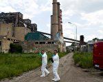 2014年6月6日,科索沃主要發電廠疑似發生瓦斯爆炸,造成至少3人死亡。(ARMEND NIMANI/AFP/Getty Images)