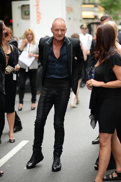 歌手斯汀。(Andrew H. Walker/Getty Images for Tony Awards Productions)