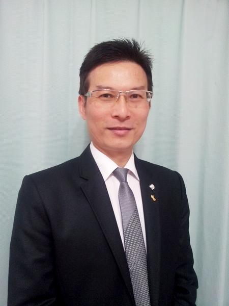 公胜保险经纪人高雄营运处业务部协理蔡德岚。(图:公胜保经公司提供)