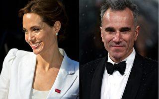 2014年6月13日,联合国特使、好莱坞影星安吉丽娜•朱莉(左)与英国演员丹尼尔•戴刘易斯分别获英女王授予荣誉爵士与爵士头衔。(大纪元合成图/Getty Images)