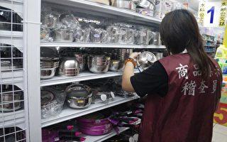 市售不鏽鋼食品容器具 6成標示不合格