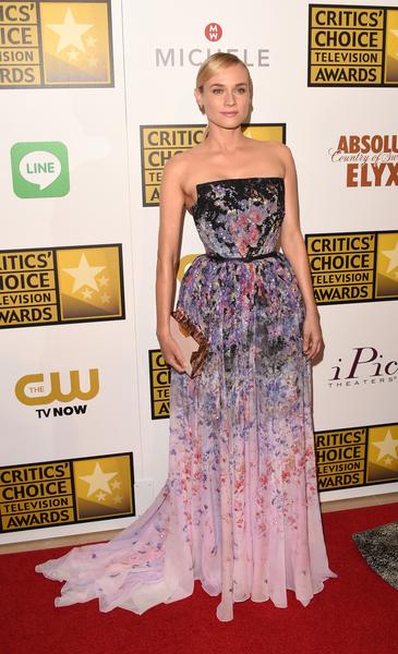 德国演员黛安•克鲁格。(Jason Merritt/Getty Images for Critics' Choice Television Awards)