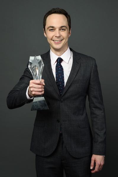 喜剧类最佳男主角:吉姆•帕森斯(《生活大爆炸》)。(Michael Buckner/Getty Images for Critics' Choice Television Awards)