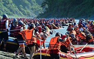 泛舟铁人三项竞赛 挑战自我极限