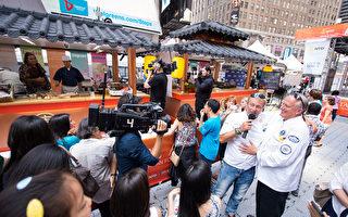 亞洲美食節與中國菜廚技大賽火爆時代廣場 1