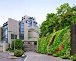 新鸿基推出旗下超豪宅,12幢洋房的Twelve Peaks,预测呎价高达10万元。(新鸿基集团提供)