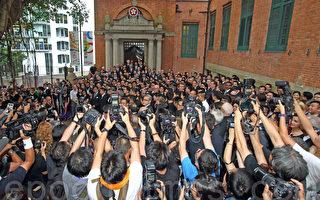 香港法律界創紀錄 千八人黑衣遊行拒白皮書