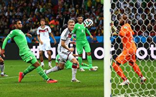 【精彩進球】德國 2:1 阿爾及利亞