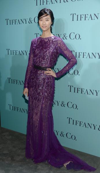 朴智慧。(Dimitrios Kambouris/Getty Images for Tiffany & Co.)
