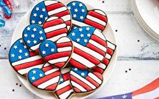 組圖:有創意!美國人國慶聚會吃甚麼顏色?