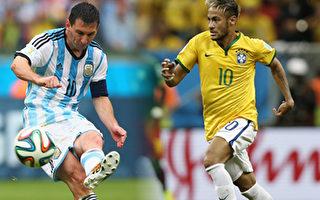 世界盃八強 強強對話 內馬爾梅西遭挑戰